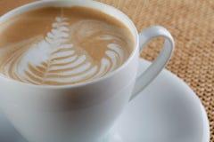 Cuvette de café de cappuccino Photo libre de droits