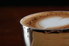 Cuvette de café de cappuccino Photos stock