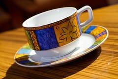 Cuvette de café de la Bohême photographie stock