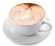 Cuvette de café de latte photos libres de droits