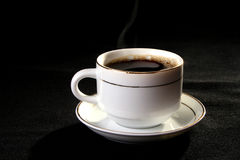 Cuvette de café et de thé Image libre de droits