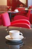 Cuvette de café express Photos libres de droits