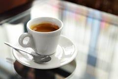 Cuvette de café express Image stock