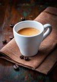 Cuvette de café express Images stock