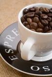 Cuvette de café express Photo stock
