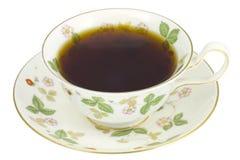 Cuvette de café florale photo libre de droits