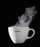 Cuvette de café fraîche Image stock