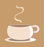 Cuvette de café graphique Images libres de droits