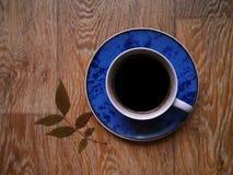 Cuvette de café noir Image libre de droits