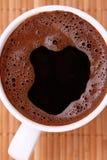 Cuvette de café pendant un beau jour Images libres de droits