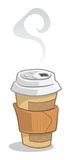 Cuvette de café remplaçable illustration stock