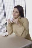 Cuvette de café Satisfying. image stock
