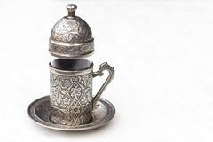 Cuvette de café turc Photo libre de droits