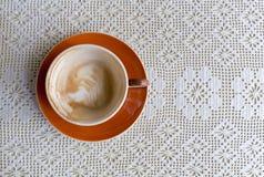Cuvette de café vide Image stock