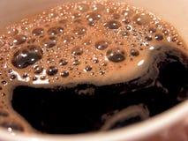Cuvette de café chaud Photographie stock libre de droits