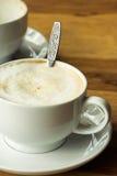 Cuvette de cappuccino Images libres de droits