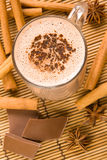 Cuvette de chocolat chaud photographie stock libre de droits