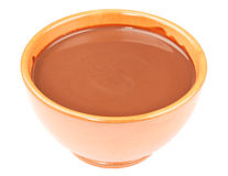 Cuvette de chocolat chaud image stock