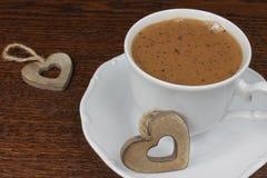 Cuvette de chocolat chaud Images stock