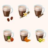 Cuvette de chocolat chaud Photographie stock libre de droits