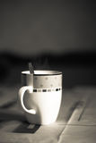 Cuvette de coffe Photo libre de droits