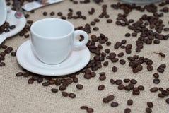 Cuvette de coffe Photographie stock