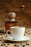 Cuvette de coffe Photo stock