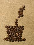 Cuvette de coffe Photos libres de droits