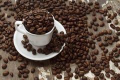 Cuvette de Coffe Photographie stock libre de droits