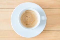 Cuvette de coffe chaud Photos stock