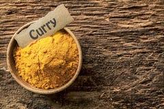 Cuvette de curry photos stock