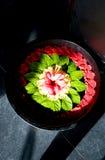 Cuvette de fleur de station thermale Photographie stock