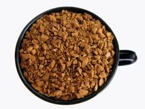 Cuvette de grains de café. Images libres de droits