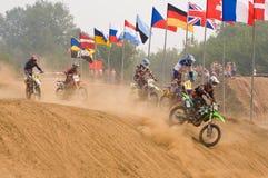 Cuvette de l'équipe IMBA de nations (motocross) photographie stock libre de droits