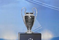 Cuvette de l'UEFA Champions League Photo stock