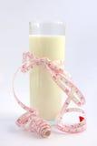 Cuvette de lait Image stock