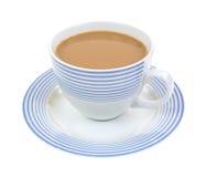 Cuvette de latte français de café de vanille image stock