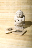 Cuvette de lutteur de sumo Images libres de droits