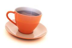 Cuvette de matin de café Photographie stock