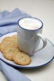 Cuvette de milkcoffee Image stock