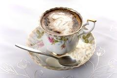 Cuvette de porcelaine de café Image stock