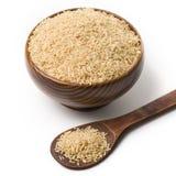 Cuvette de riz Image libre de droits