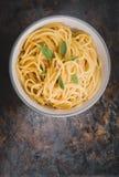 Cuvette de spaghetti Image libre de droits