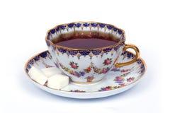 Cuvette de té image libre de droits