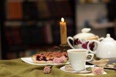 Cuvette de thé Images stock