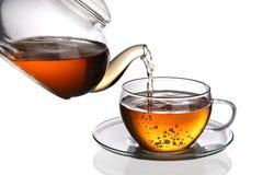 Cuvette de thé photo stock