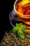 Cuvette de thé Photographie stock