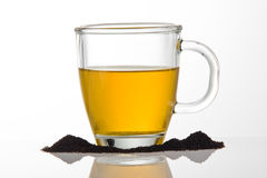 Cuvette de thé Image stock