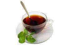 Cuvette de thé Photo libre de droits