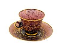 Cuvette de thé antique Image libre de droits